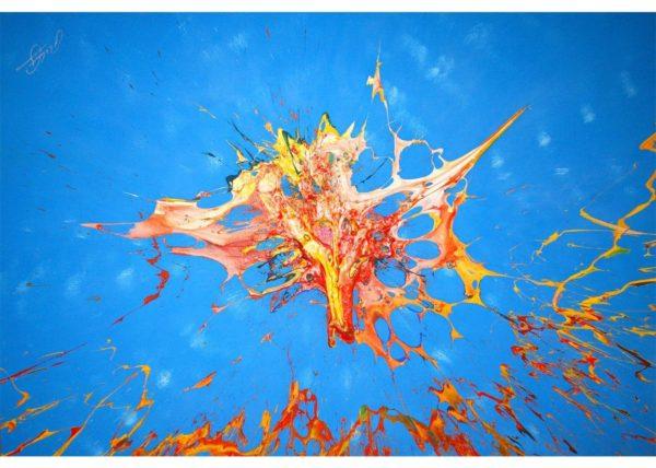 DAS EINE / Andreas Streicher / Bomb Art / 2007