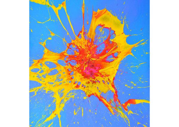 ENTFALTUNG / Andreas Streicher / Bomb Art / 2003